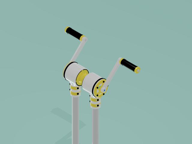 gear box - blk yellow  - O