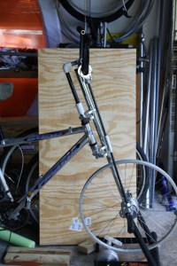 Dual Drive bicycle early stage development