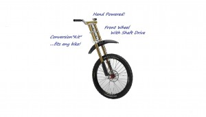 dual drive bicycle gives the rider a total aerobic work-out